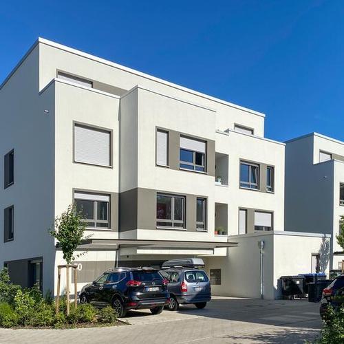 Neubaukomplex in Münster